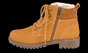 Marco Tozzi kort damestøvlett gul 2-2-26272-23