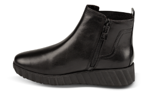 Tamaris kort damestøvlett sort 1-1-25485-23