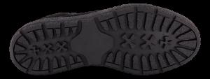 Tamaris kort damestøvlett sort 1-1-26096-23