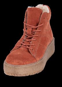 Tamaris kort damestøvlett gylden 1-1-26096-23