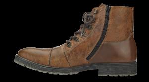 Rieker herrestøvlett brun 33302-25