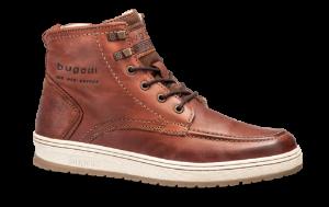 Bugatti kort herrestøvle brun 32133456