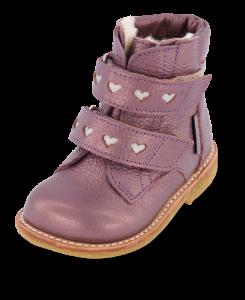 Angulus barnestøvlett lilla 2074-101