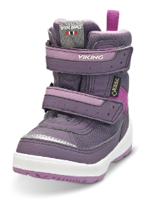 Viking barnestøvlett lilla 3-87025 Play