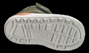 ECCO barnestøvlett grønn/oransje 754711 URBAN MIN