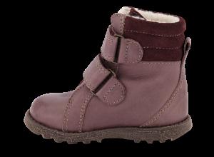 Skofus barnestøvlett mørk rosa