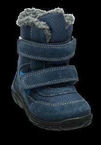 Skofus barnestøvlett blå