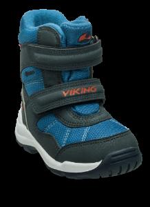 Viking barnestøvlett blå/koboltblå 3-80422 Albatros