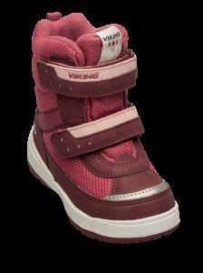 Viking børnestøvle rød 3-87025 Play II