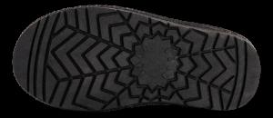 Rugged Gear barnestøvlett sort glitter 20108 Bondi Glit
