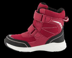 KOOL bordeaux vinterstøvlett med lys 5621501361