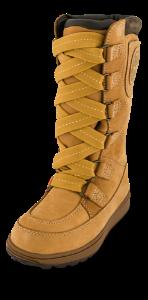 Timberland barnestøvlett gul C39779
