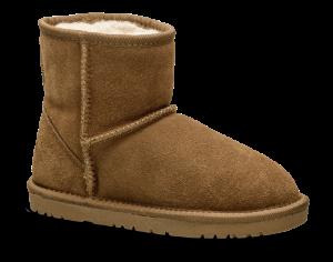 Rugged Gear barnestøvlett brun Bamsestøvle