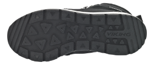 Viking børnestøvle sort 3-87460 Rotnes