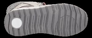 MiaMaja barnestøvlett grå/sølv/burgunder