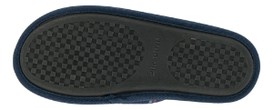 Zafary marineblå herretøfler 6011501950