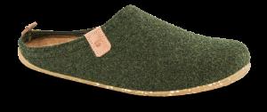 Rohde Herretøfler Grønn 6920