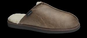 Shepherd herre-tøffel brun 1201