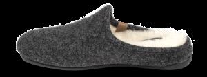 Zafary dametøffel antrasittgrå