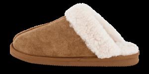 Woollies dametøffel brun 1006 The Slip