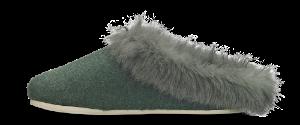 Zafary dametøffel grønn