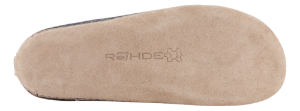 Rohde dametøffel antrasitt 6130