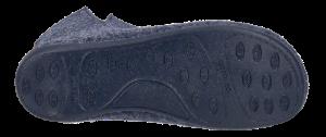 Zafary dametøffel marineblå
