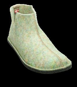 Sanita dametøffel grågrønn 460001
