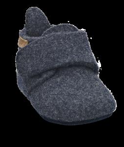 Bisgaard babytøffel navy 11200999