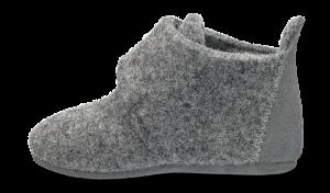 Bisgaard babytøffel grå 11200999