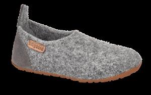 Bisgaard barnetøffel grå 11201999