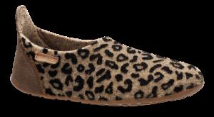 Bisgaard barnetøffel leopard 11201999