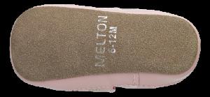 Melton barnetøffel rosa 400131