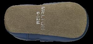 Melton barnetøffel blå 400137