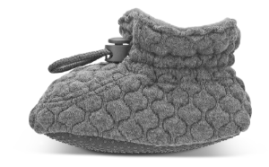 Melton barnetøffler grå 420008