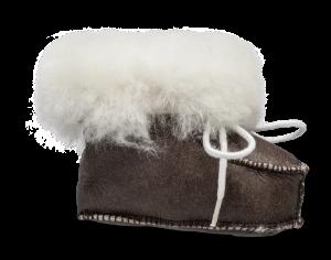 Shepherd barnetøffel brun 1391
