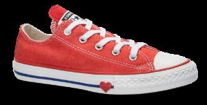Converse børne canvas sneaker rød 363706C CHUCK TA