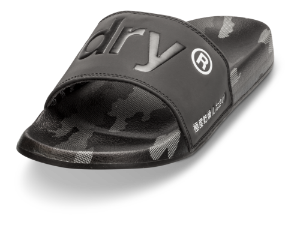 Superdry badesandal sort SUPERDRY-AOP BEA
