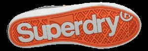 Superdry herre-lerretssko grå TROPHY CLASSIC L