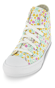 Converse canvas basket hvid  666875C Chuck Ta
