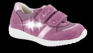 Skofus barne-sneaker gammelrosa