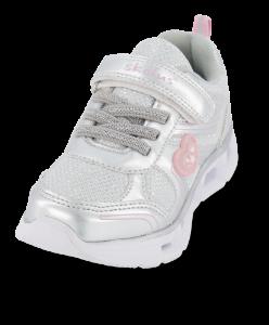 Skofus barne-sneaker sølv
