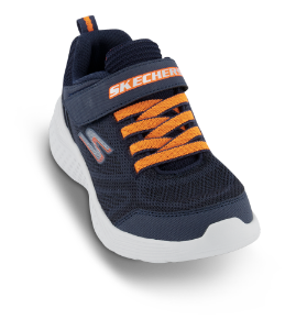 Skechers barnesneaker blå/sort 97546L