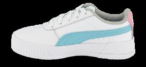 Puma barnesneaker hvit Carina L PS 370678