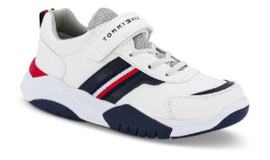 Tommy Hilfiger børnesneaker hvid T3B4-30728-