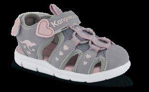 Kangaroos barnesandal grå KR02035