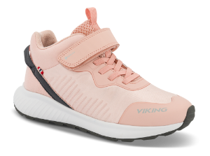 Viking Barnesneakers Rosa 3-51756=3-51755