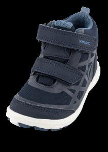 Viking Barnesneakers Blå 3-51025