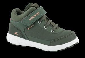 Viking Barnesneakers Grønn 3-50020