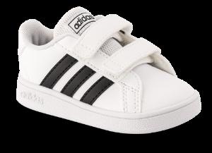 adidas Børne sneaker Hvid EF0118 Grand Court I